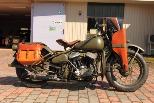 Harley-Davidson WLA-42 (Milwaukee, USA), 1943, Mart