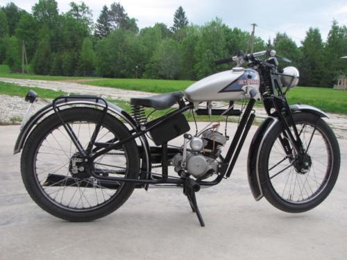 Maico MP-100 Fanal, 1938, Jaan